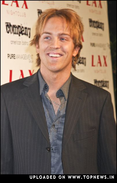 Larry Birkhead at New Year's Eve 2008 Party