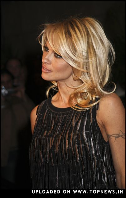 Event Pamela Anderson at New Year 39s Eve 2008 Party at LAX Nightclub in Las