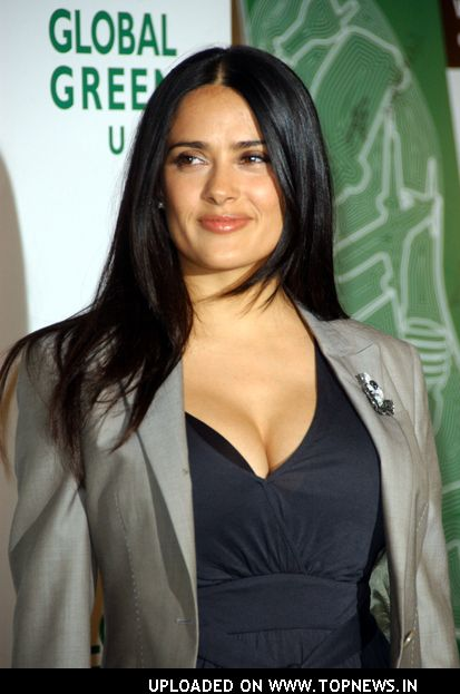 salma hayek pics. Salma Hayek at Global Green