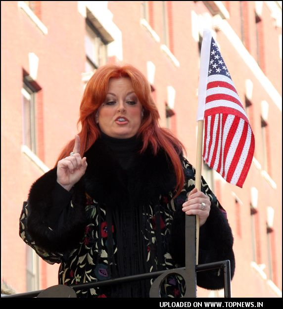 Wynonna Judd at 81st Annual Macy's Thanksgiving Day Parade