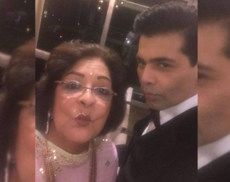 Check Out! KJo pouts it out with his mother