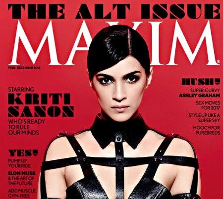 Kriti Sanon looks stunning on Maxim's cover page