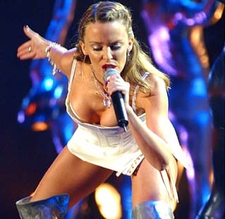 kylie minogue live picture
