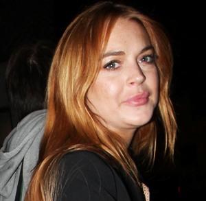 Lindsay Lohan. Lohan