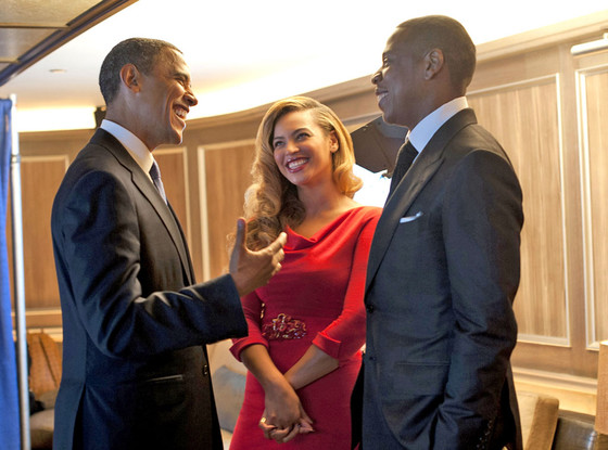 Jay-Z and Beyonce are really down-to-earth folks, says Obama