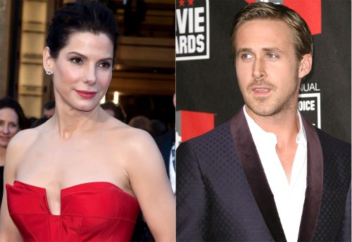 Bullock, McAdams two great girlfriends: Gosling