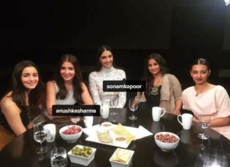 B-Town ladies in one frame for 'Actress Roundtable 2016'