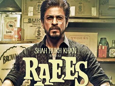 SRK looks fierce in new `Raees` poster