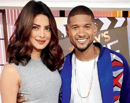 Priyanka Chopra wishes good luck to friend Usher
