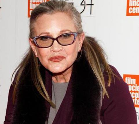 Carrie Fisher on ventilator after massive heart attack