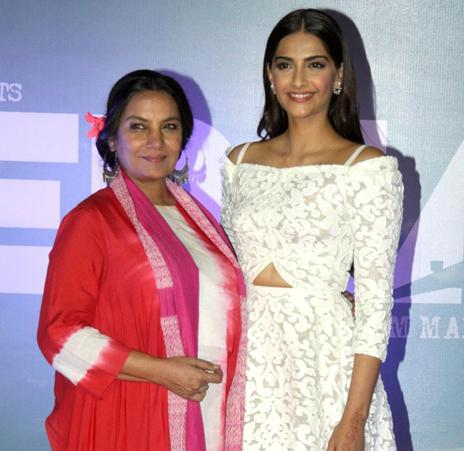Shabana Azmi is 'very proud' of her 'bachcha' Sonam Kapoor