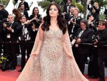 Abhishek Bachchan awestruck by Aishwarya's Cannes look