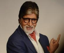 Big B teases fans with 'Pink' logo