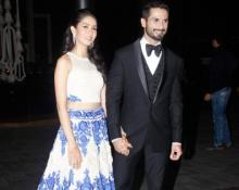 Pregnant Mira Rajput `glows away` at Preity Zinta's reception