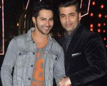 KJo blesses 'student' Varun Dhawan on his 30th b'day