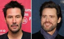 Keanu Reeves and Jim Carrey