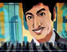 Google doodle remembers Kannada actor Rajkumar on his birth anniversary
