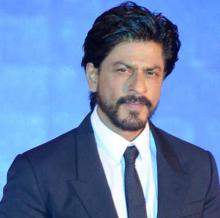 Guess where SRK has his birthmark!