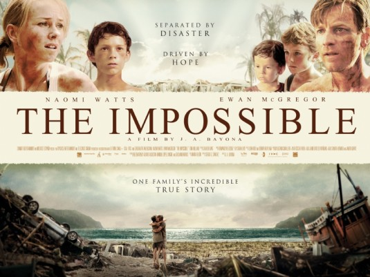'The Impossible' to release in India Jan 4
