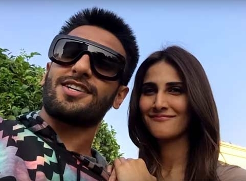 Vaani finds Ranveer's energy to be infectious!