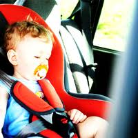Children can suffer brain damage if left in hot car