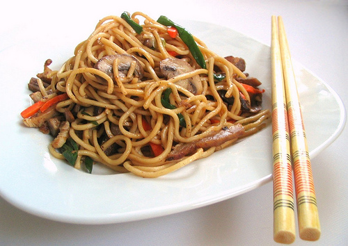 Chinese students hospitalised after eating noodles