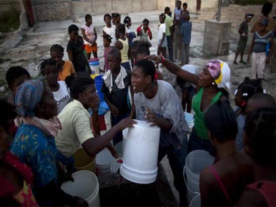 Over 2,300 now dead from cholera in Haiti