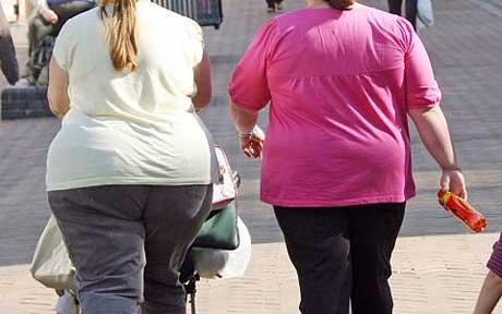 Fat People Walking. Shaming obese people can
