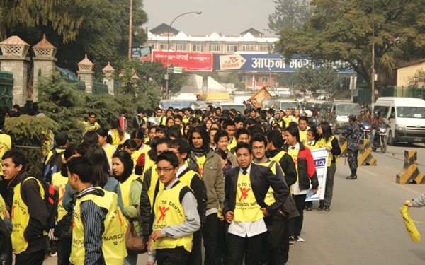 Anti-drug campaign launched in Nepal