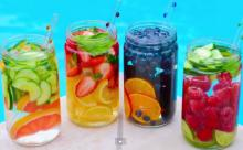 This summer, detox with infused water