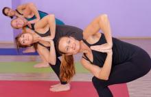 Doing hot yoga? Make sure you drink plenty of water to keep a cool head
