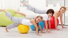 Dear parents! Your regular exercise routine may set habit in your kids