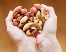 Consuming handful of nuts everyday can keep major ailments away