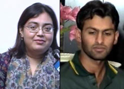 shoaib malik and ayesha siddiqui  Ayesha Siddiqui Shoaib Ma...