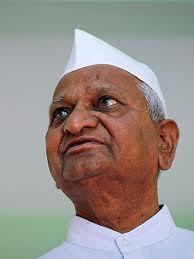 Anna Hazare's supporters pray for his long life