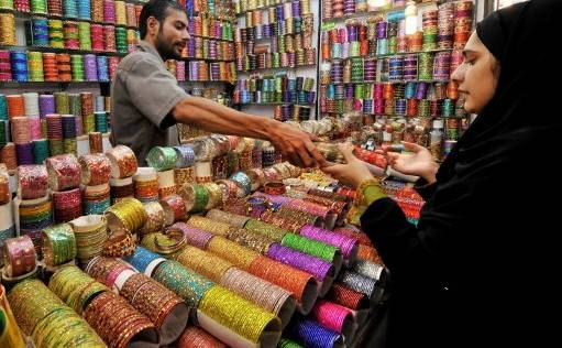 Image result for EID SHOPPING IN KASHMIR