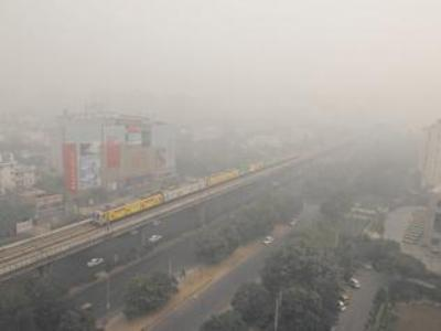Air quality 'hazardous' around Gurgaon Sector 11
