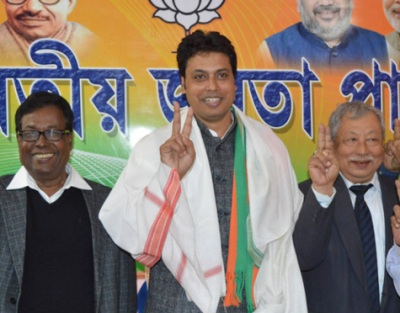 Dissidents in TMC allegedly inching closer to BJP in Tripura
