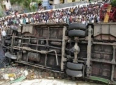 Three kids killed, 25 injured in school bus accident in Punjab