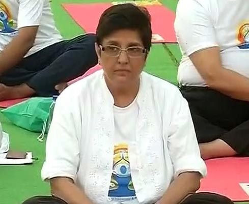 Former IPS officer and BJP leader Kiran Bedi
