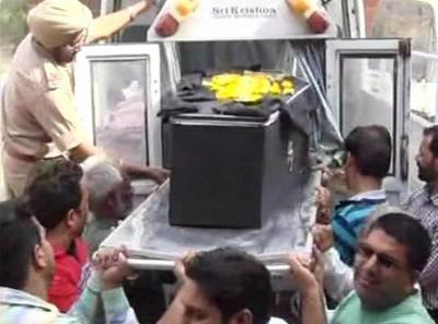 Kirpal Singh's body brought to hometown for last rites