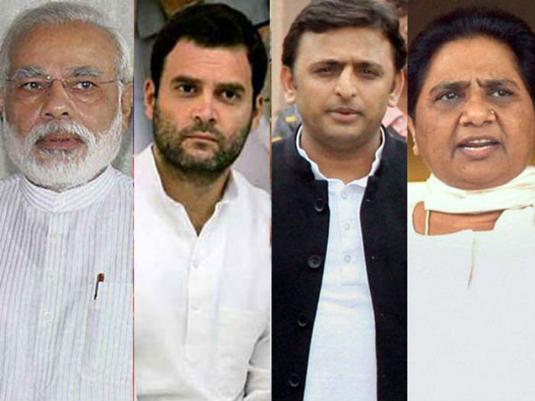 Mega rallies by Akhilesh-Rahul, PM Modi, Mayawati
