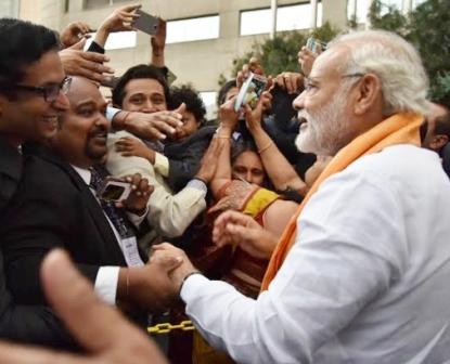 PM Modi greeted with 'Bharat Mata Ki Jai' in Mexico