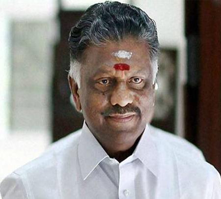 CM Panneerselvam on Chennai oil spill