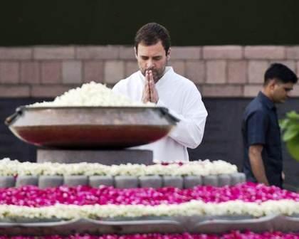 Nation pays tribute to Rajiv Gandhi on his 72nd birth anniversary