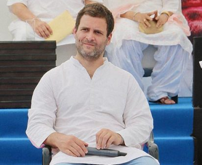 My father taught me values are worth fighting for, no matter the struggle: Rahul