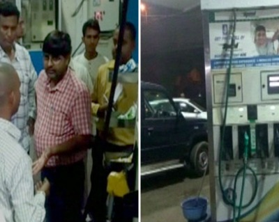 UP STF raids petrol pumps, eight caught using cheating chip