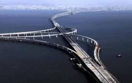 World 39 S Longest Sea Bridge Opens In China Topnews