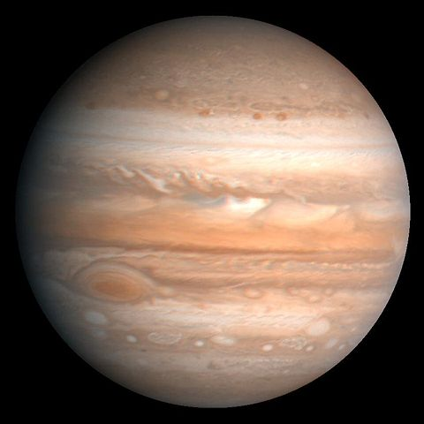 Watch that big, bright Jupiter tonight