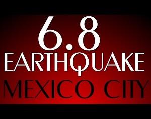 Magnitude-6.8 quake hits Mexico